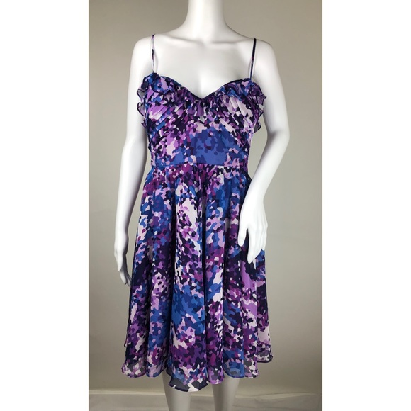 Laundry by Design Dresses & Skirts - Laundry by Design Blue and Purple Dress Size 12